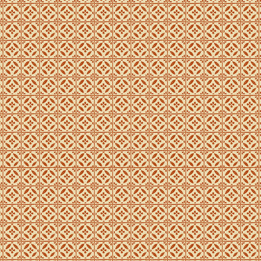Rustic Fall Harvest Tile Orange