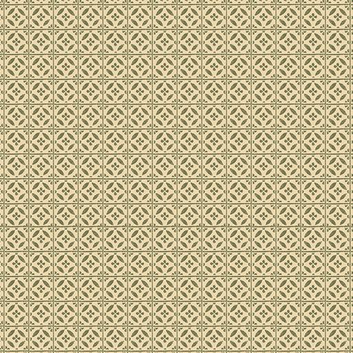 Rustic Fall - Harvest Tile, Leaf - by Benartex