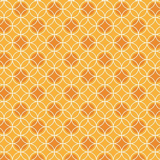 Bree-Dot Circle Orange