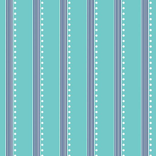 Bree -Stripe Aqua