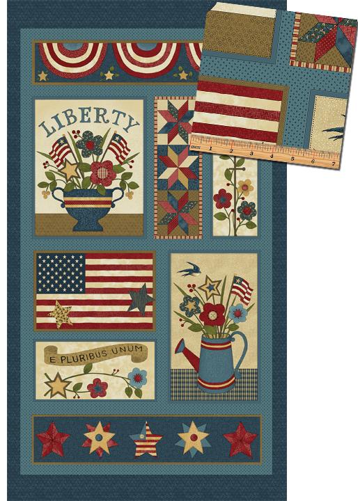 Freedom Panel Blue/Multi