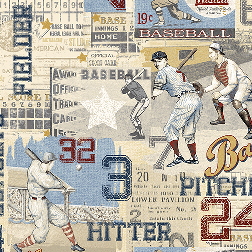 Game Time American Pastime Light Blue 2601-50