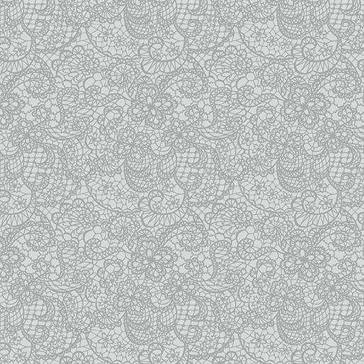 Benartex Festive Lace Gray (A Festive Seaon 3)