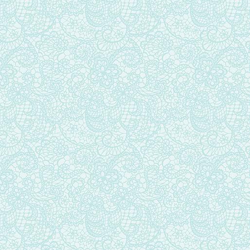 Festive Lace Ice Blue