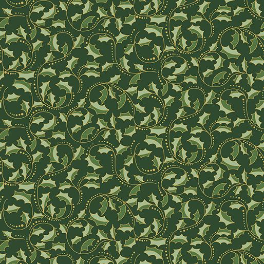 Golden Leaf Scroll Forest
