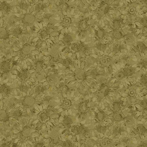 BENARTEX PUMPKIN PATCH GREEN WHISPERING SUNFLOWERS GREEN 02774 40