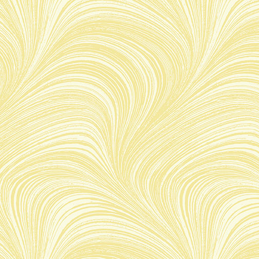 Benartex - Wave Texture Lemon 2966-03