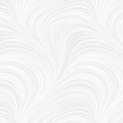 Wave Texture Wide - White - 2966W-09