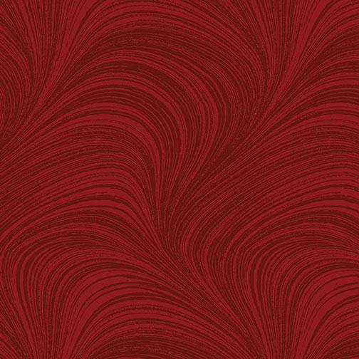 Wave Texture Wide - Medium Red - 2966W-15