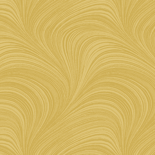 Benartex - Wave Texture Gold 2966-33