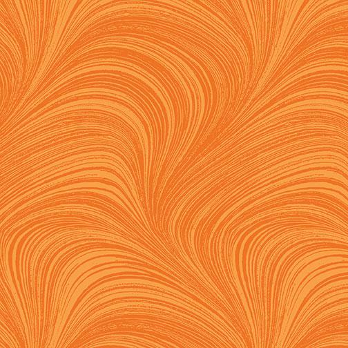 Benartex - Wave Texture Tangerine 2966-39