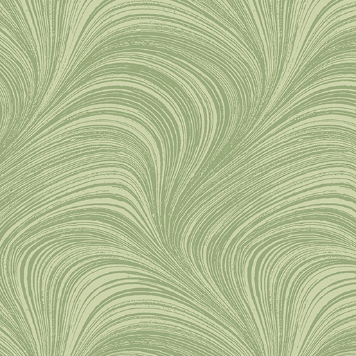 Wave Texture Wide - Green - 2966W-42
