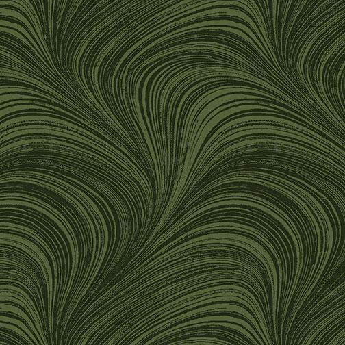 Wave Texture - Dark Green - 2966W-44