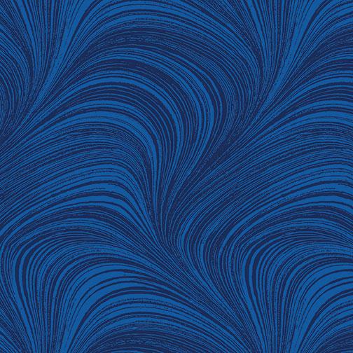Wave Texture Cobalt