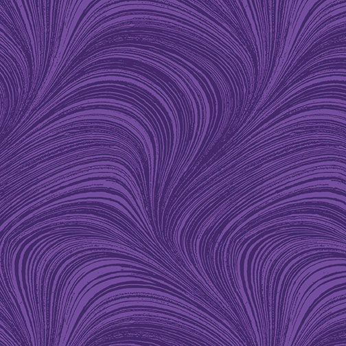 Benartex - Wave Texture Grape 2966-62