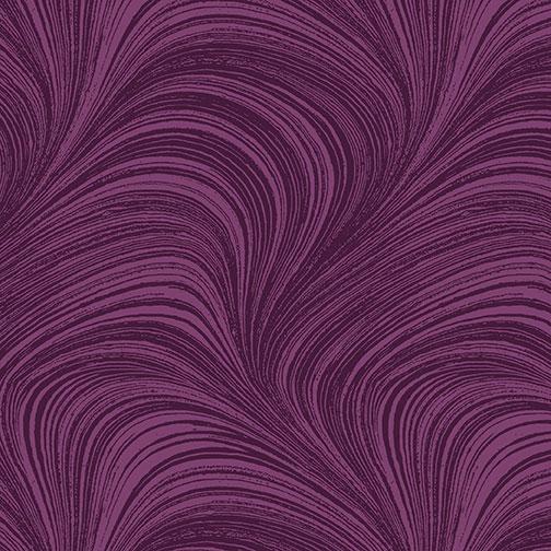 Benartex - Wave Texture Plum 2966-63