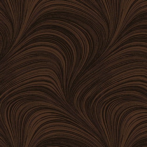 Benartex - Wave Texture Chocolate 2966-77