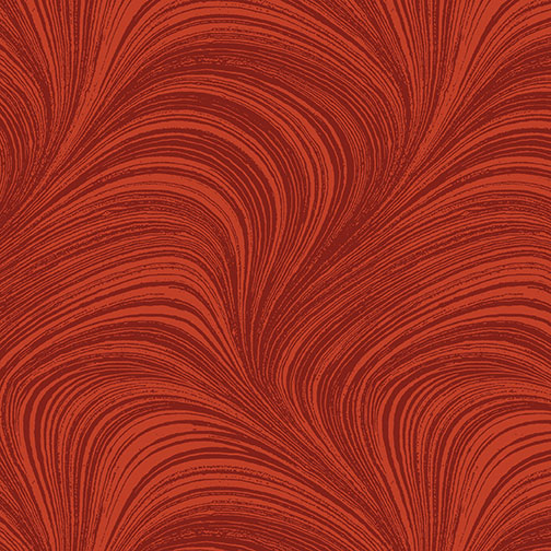 AUTUMN LEAVES PAPRIKA WAVE TEXTURE 02966-79