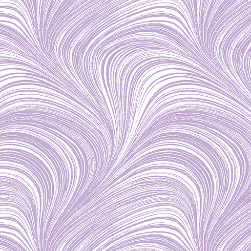 Pearlescent Wave Text.Lavender