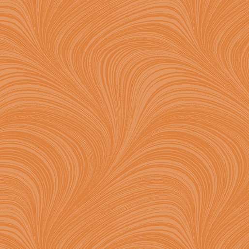 Pearlescent Wave Text Orange