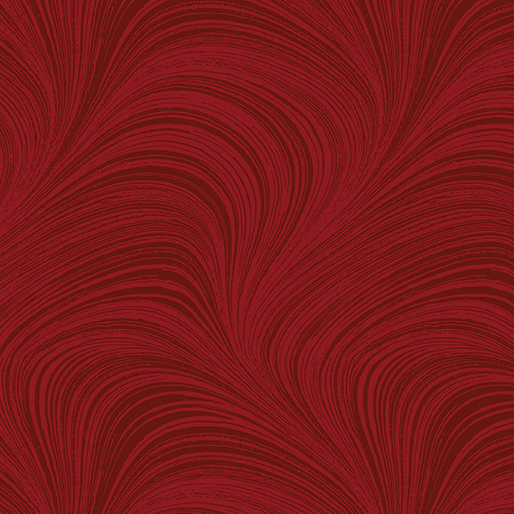 Wide Wave Texture Medium Red 108
