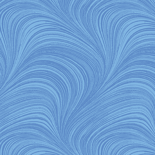 Wave Texture Wide - Blue - 2966W-50