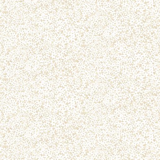 02967 07 Beargrass Small Floral Cream for Benartex Fabrics.  100% cotton 43 wide