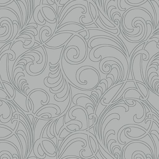 Meadow Scroll Light Gray