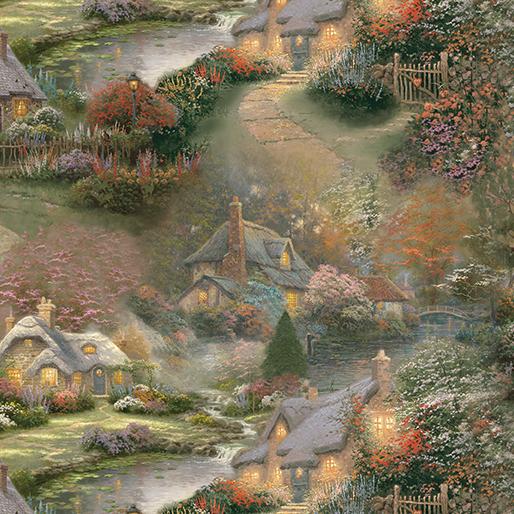 Foxglove Cottage Allover - 3037-99
