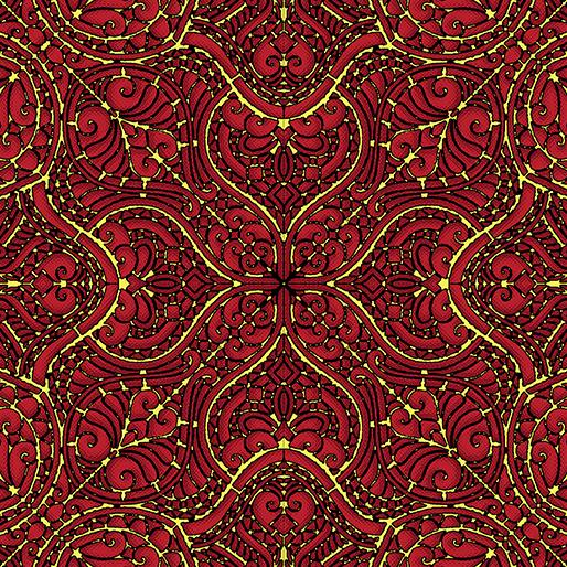 Piece & Joy - Stencil - Red - 3179M-10