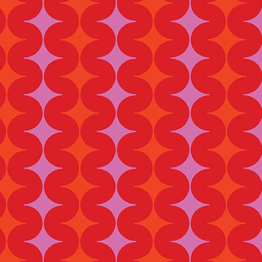 Geo Pop Diamond Pop Red-19