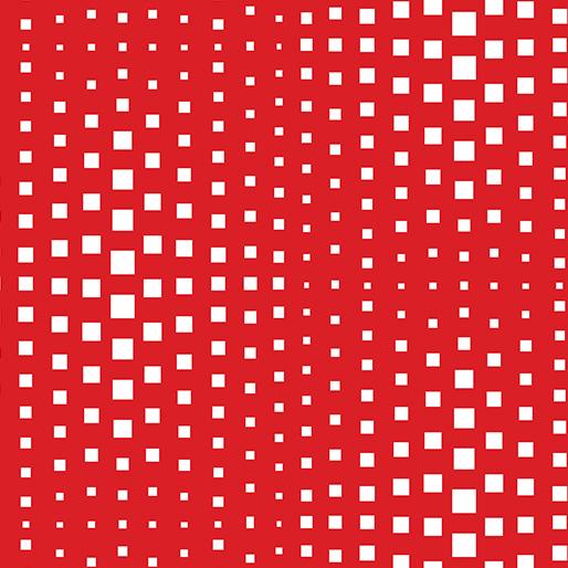 Geo Pop Op Squares Red-10