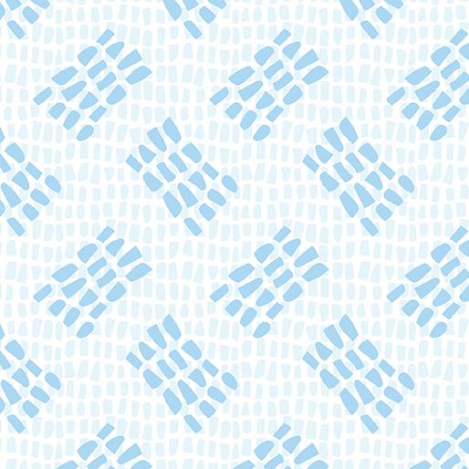 Benartex Tracks Light Blue