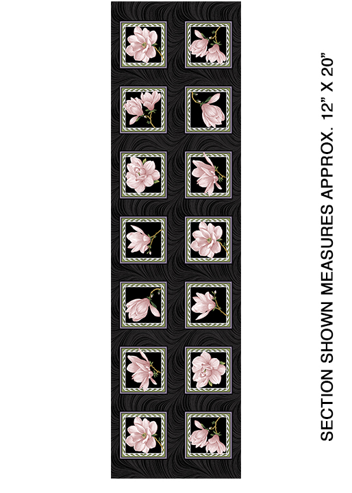 Mag.Blooms Blocks Pnl CoralBlk