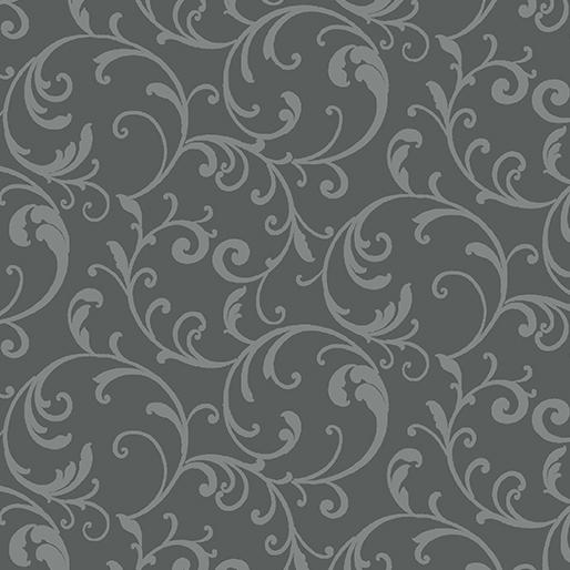 3628-11 Classic Scroll- Gray (20I)