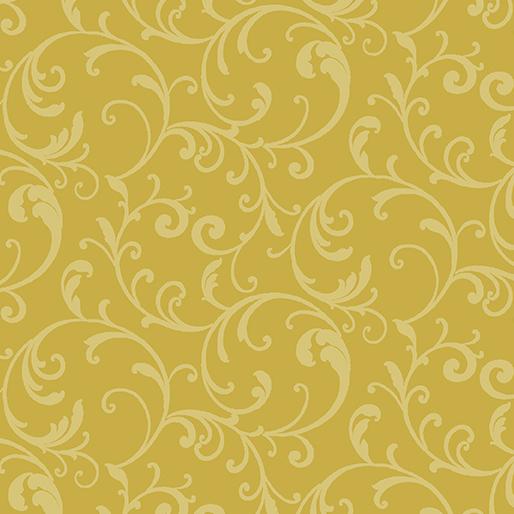 Classic Scroll Yellow