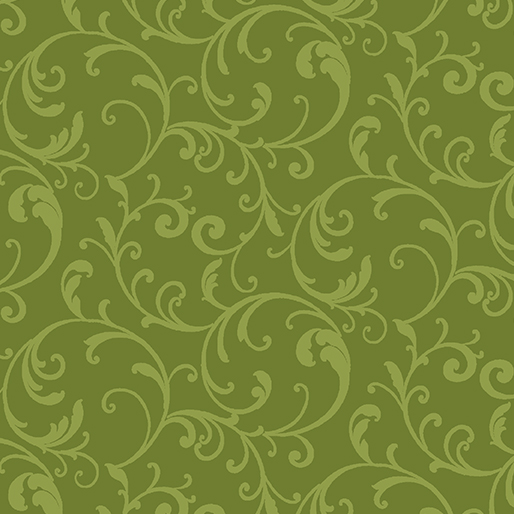 Classic Scroll Lime