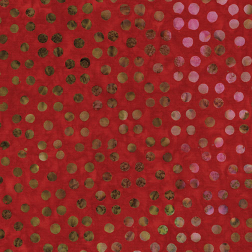 Bali Dots Great Red 3671-10