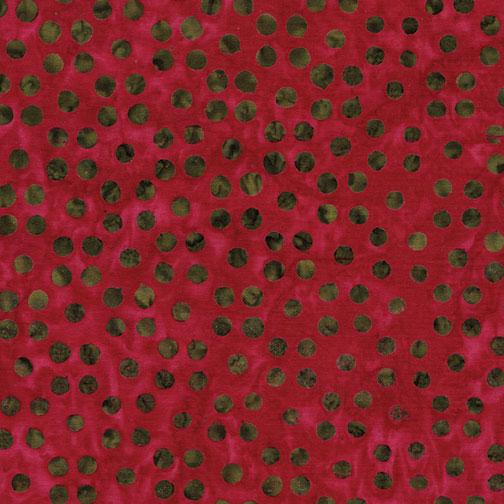 Bali Dots Great Deep Rose 3671-28