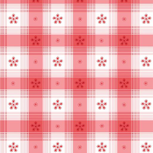 Benartex Simply Chic 03818 10 Red