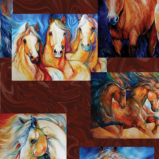Horses - Patch Chocolate - Born to run