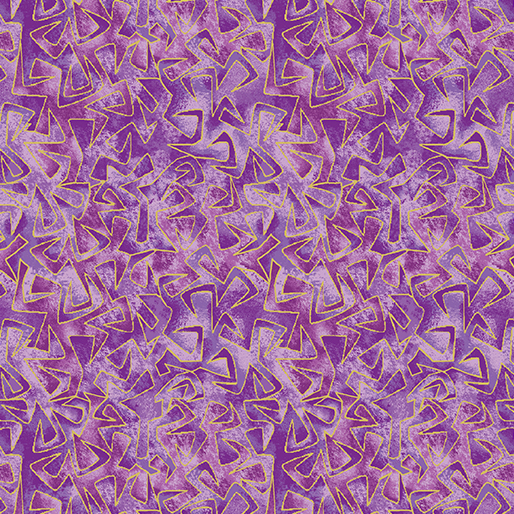 Triangular Motion Purple