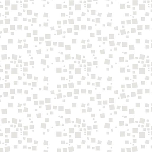 Cat-I-Tude Small Geo Squares - White