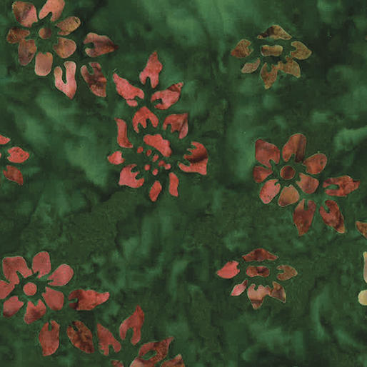 Small Flower Green/Multi