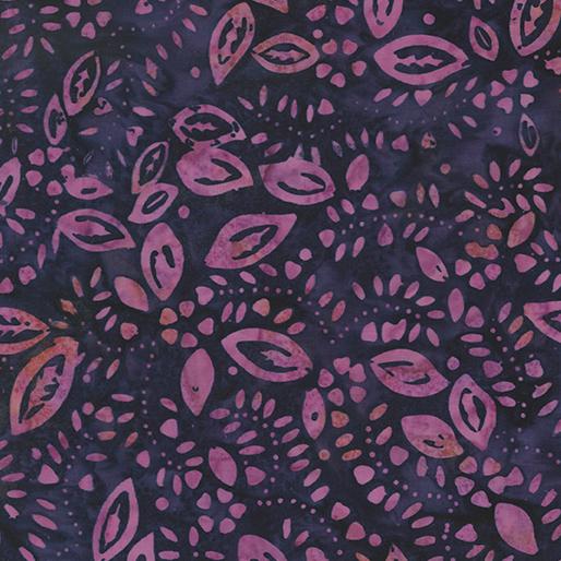 Leaves Plum/Pink