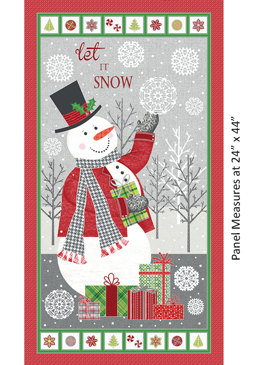 Let It Snow Panel Multi