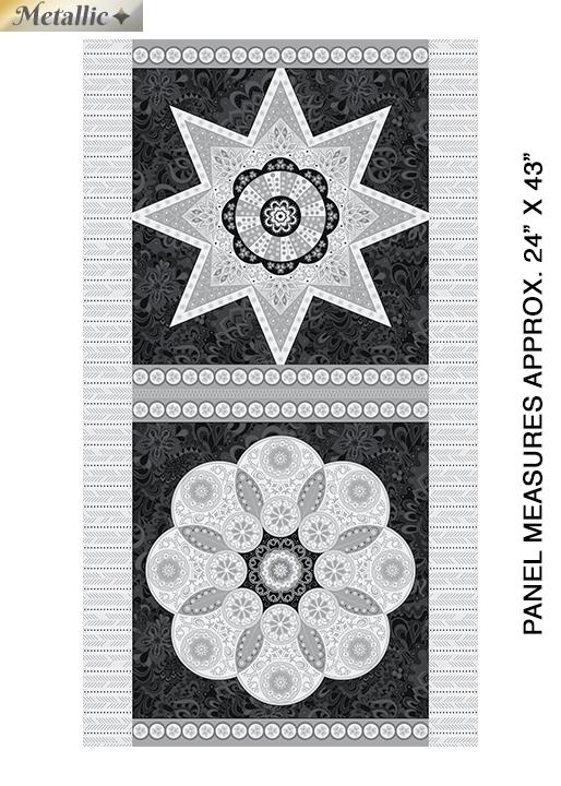 Jubilee Ruler Panel Silver/Blk