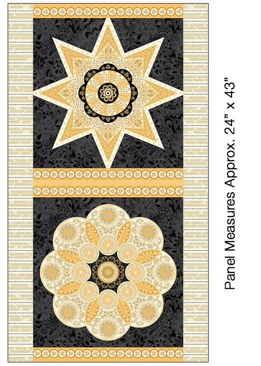 Panel 463: Ruler Panel Multi - Jubilee Metallic