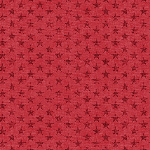 American Rustic Tonal Stars Red(F10561)