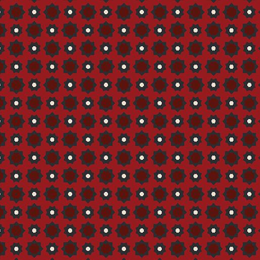 629 Foulard Red